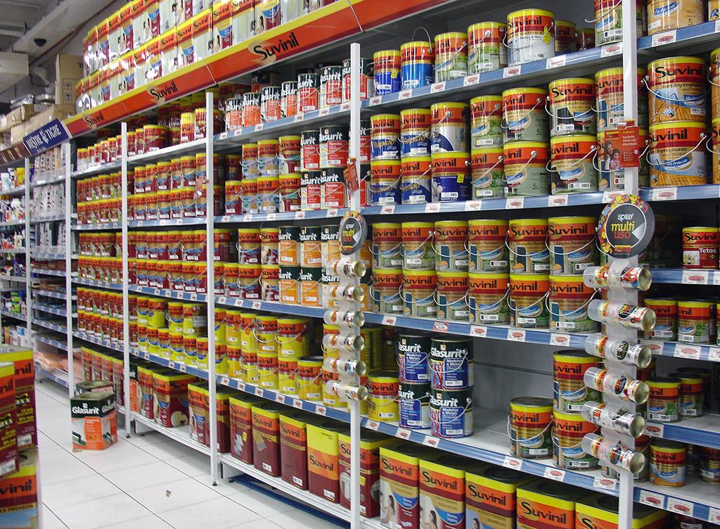 Racks, Porta-Pallets, Gôndolas para Home Centers e Lojas de materiais de construção
